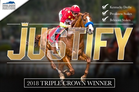 Justify Triple Crown winner