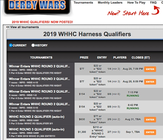 WHHC Qualifiers