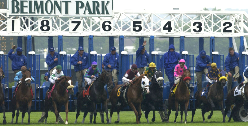 Belmont Park Entries & Results